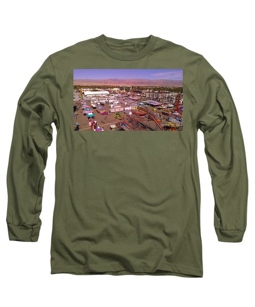 Indio Fair Grounds Long Sleeve T-Shirt by Chris Tarpening