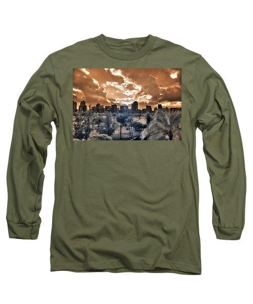 Infrared Sunset Long Sleeve T-Shirt