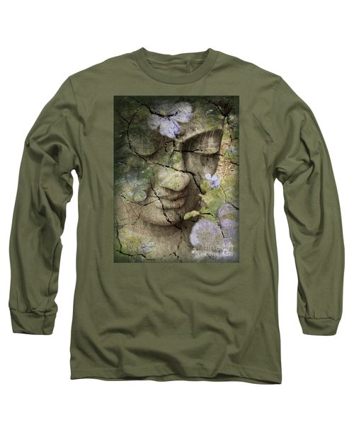 Inner Tranquility Long Sleeve T-Shirt by Christopher Beikmann