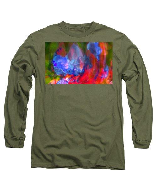 Long Sleeve T-Shirt featuring the digital art Interior by Richard Thomas