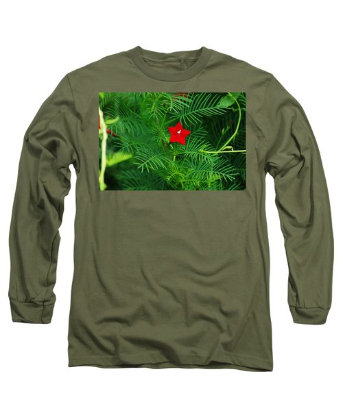 Ipomoea Quamoclit Long Sleeve T-Shirt