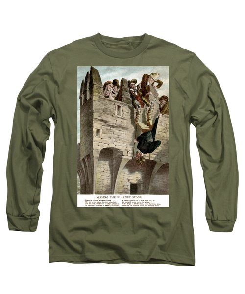 Ireland The Blarney Stone Long Sleeve T-Shirt by Granger