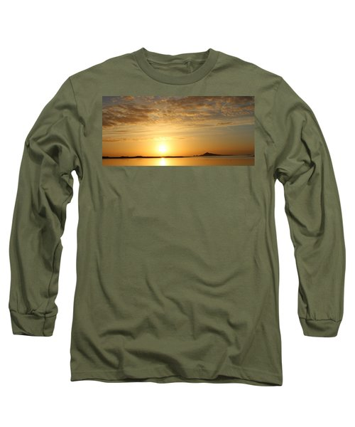 Irelands Eye At Dawn Long Sleeve T-Shirt