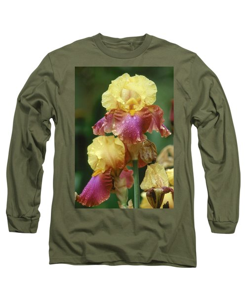 Iris 1 Long Sleeve T-Shirt by Andy Shomock