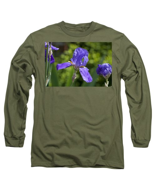 Iris 4 Long Sleeve T-Shirt by Andy Shomock
