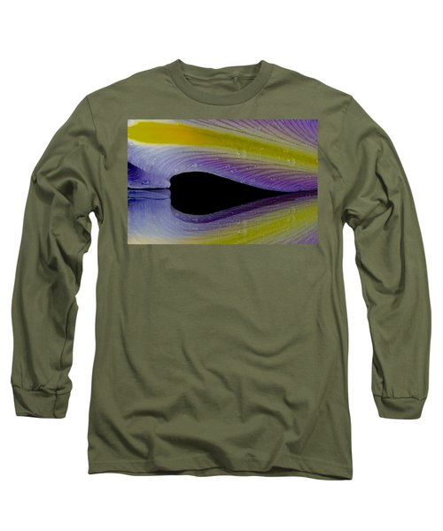 Iris Petal Reflected Long Sleeve T-Shirt
