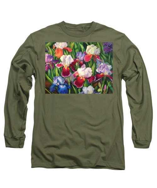 Irises2 Long Sleeve T-Shirt