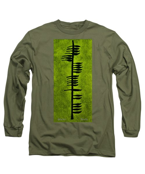 Irish Ogham Meaning Health Long Sleeve T-Shirt