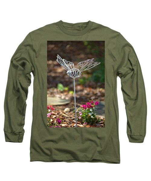 Iron Butterfly Long Sleeve T-Shirt by Gordon Elwell
