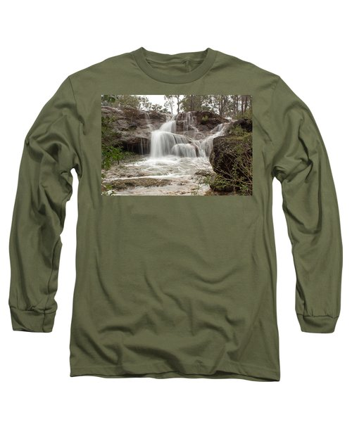 Ironstone Gully Falls 1 Long Sleeve T-Shirt
