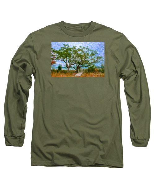 Island Time On Daniel Island Long Sleeve T-Shirt