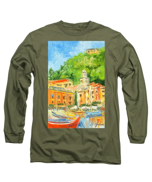 Italy - Portofino Long Sleeve T-Shirt