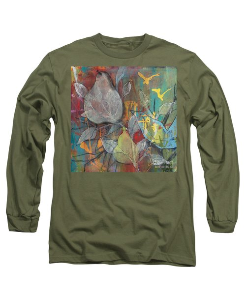 It's Electric Long Sleeve T-Shirt by Robin Maria Pedrero