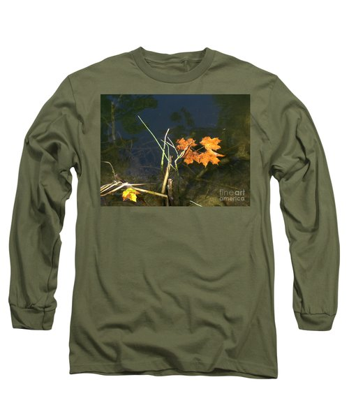 It's Over - Leafs On Pond Long Sleeve T-Shirt