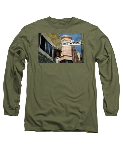 Jack Kerouac Alley And Vesuvio Pub Long Sleeve T-Shirt