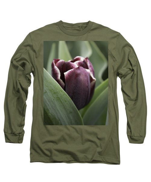 Jackpot Tulip Long Sleeve T-Shirt by Joseph Skompski