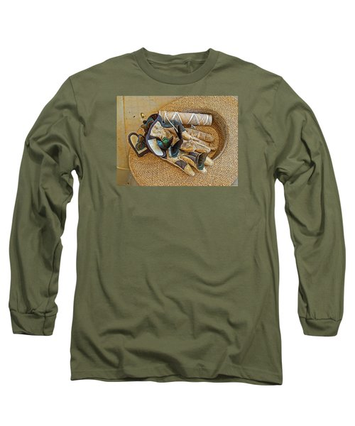 Long Sleeve T-Shirt featuring the photograph Jean's Butterflies by Larry Bishop