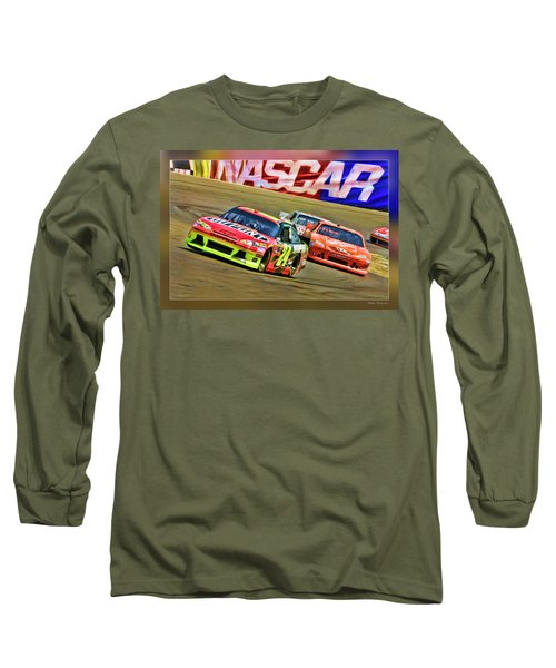 Jeff Gordon-nascar Race Long Sleeve T-Shirt
