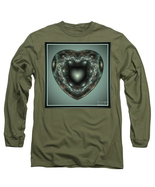 Jewel Heart Long Sleeve T-Shirt