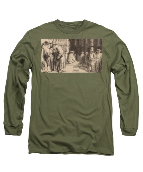 Jews In The Synagogue Long Sleeve T-Shirt