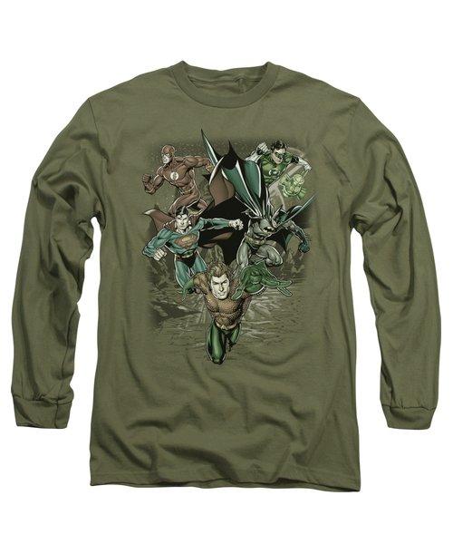 Jla - Spacing Out Long Sleeve T-Shirt