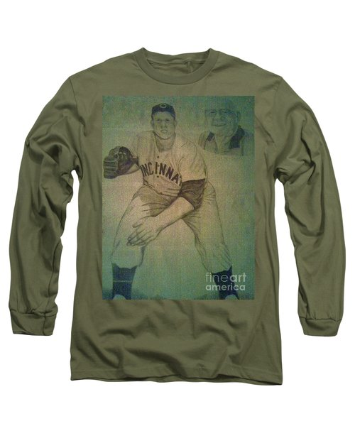 Joe Nuxhall Long Sleeve T-Shirt by Christy Saunders Church