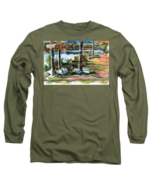 John Boats And Row Boats Long Sleeve T-Shirt