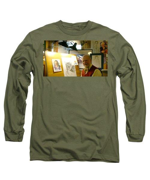 John D Benson Long Sleeve T-Shirt