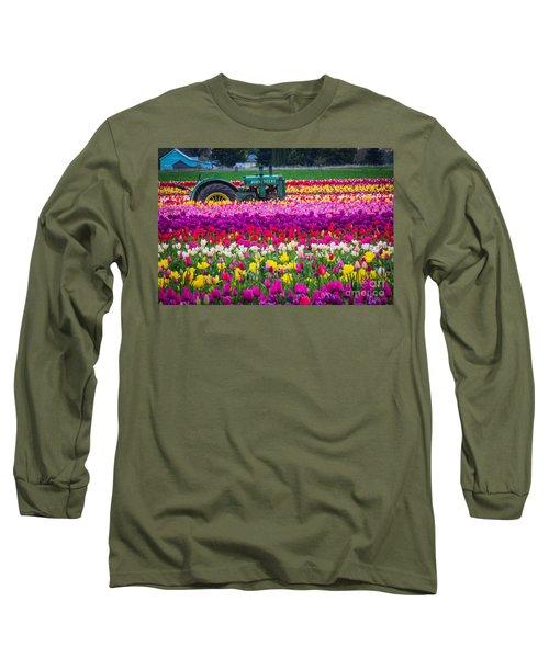 John Deere In Spring Long Sleeve T-Shirt