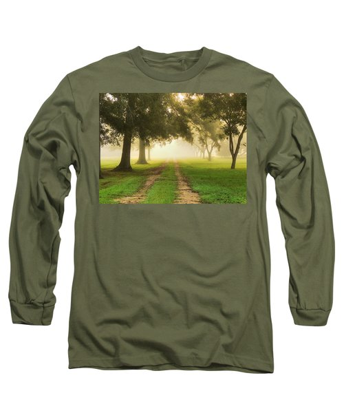 Journey Into Fall Long Sleeve T-Shirt by Charlotte Schafer
