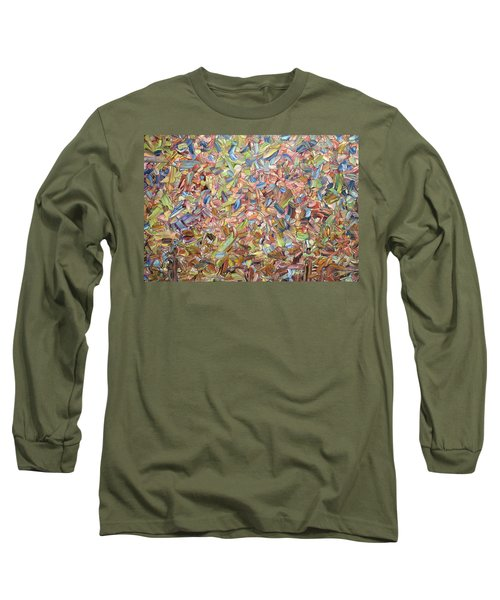 Long Sleeve T-Shirt featuring the painting June by James W Johnson