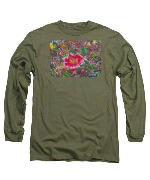 Jungle Flower Long Sleeve T-Shirt