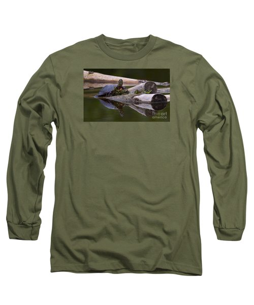Just Chillin.. Long Sleeve T-Shirt by Nina Stavlund