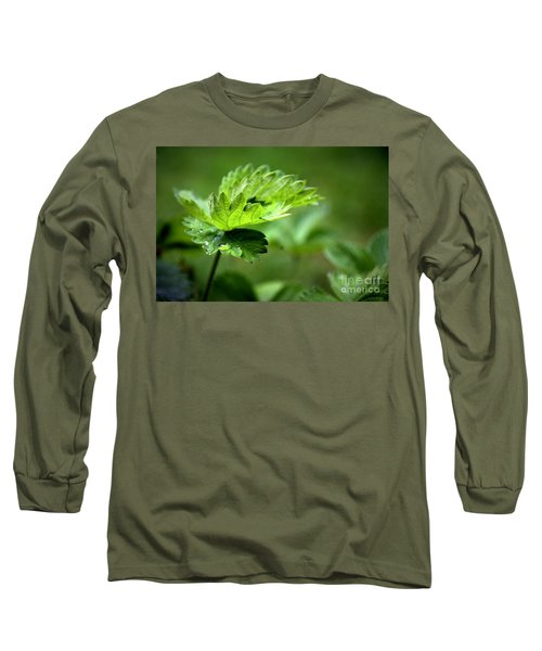 Just Green Long Sleeve T-Shirt