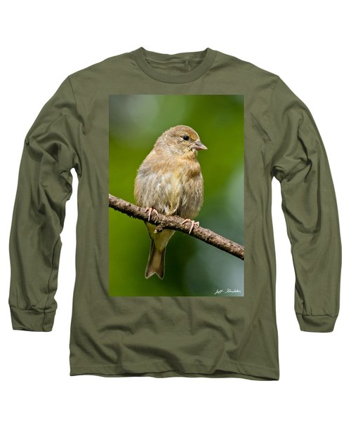Juvenile American Goldfinch Long Sleeve T-Shirt