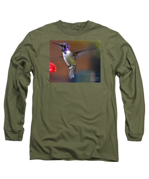 Long Sleeve T-Shirt featuring the photograph Juvenile Male Costa by Jay Milo