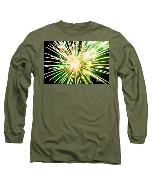 Long Sleeve T-Shirt featuring the photograph Kaboom by Suzanne Luft