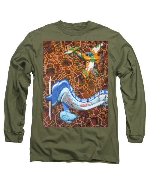 Kamikaze Kraze Long Sleeve T-Shirt