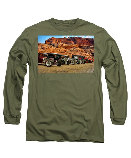 Kansas City Rat Rods And Hot Rods Long Sleeve T-Shirt