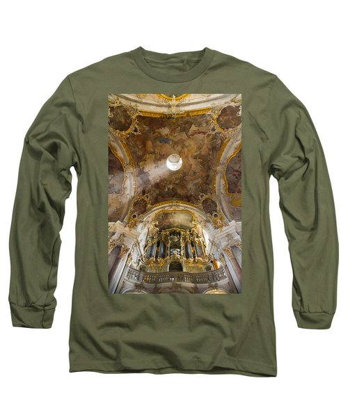 Kappele Wurzburg Organ And Ceiling Long Sleeve T-Shirt