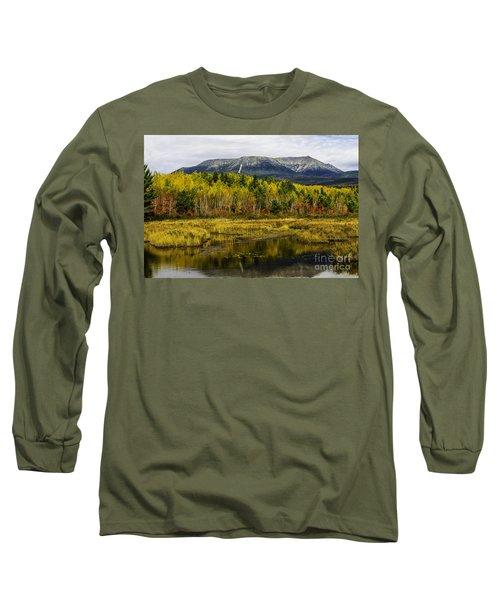 Katahdin Baxter State Park Maine Long Sleeve T-Shirt by Glenn Gordon