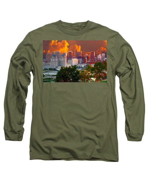 Katrina Storm Hits Cincinnati Long Sleeve T-Shirt