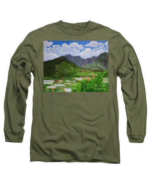 Kauai Taro Fields Long Sleeve T-Shirt