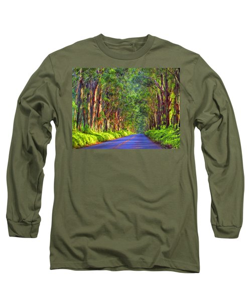 Kauai Tree Tunnel Long Sleeve T-Shirt