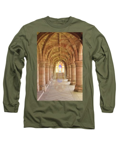 Kelso Abbey Stained Glass Long Sleeve T-Shirt