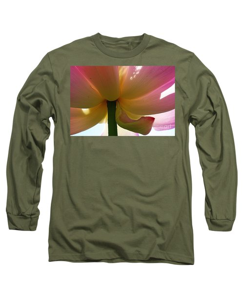 Long Sleeve T-Shirt featuring the photograph Kenilworth Garden Four by John S