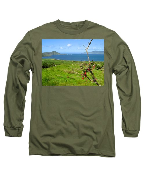 Kerry Me Away Long Sleeve T-Shirt by Suzanne Oesterling