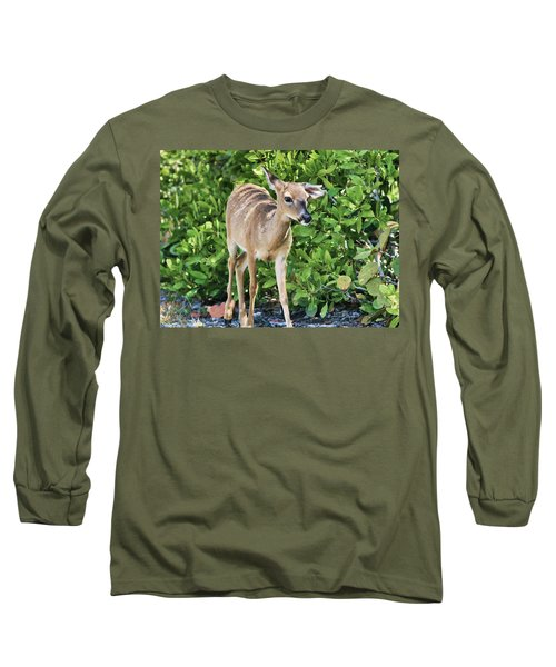 Key Deer Cuteness Long Sleeve T-Shirt