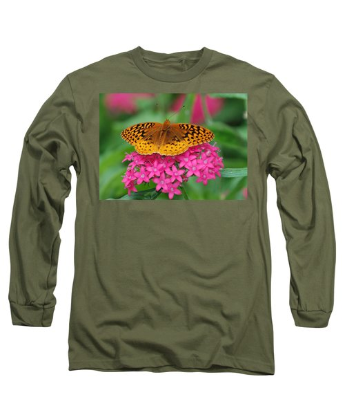 Long Sleeve T-Shirt featuring the photograph Kim's Bosom Buddies Support by Richard Bryce and Family