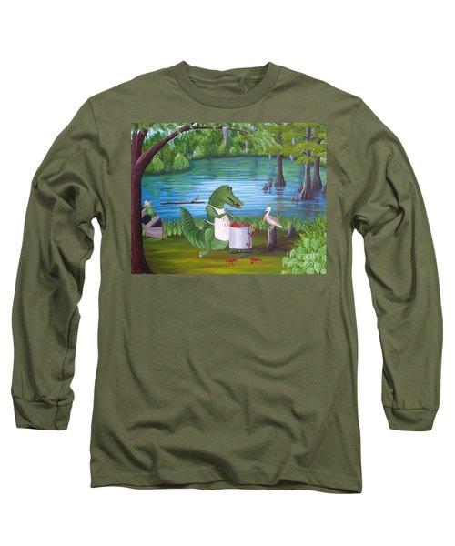 Kiss Da Cook Long Sleeve T-Shirt